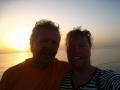 Sonnenaufgang am Strand vom Lahami