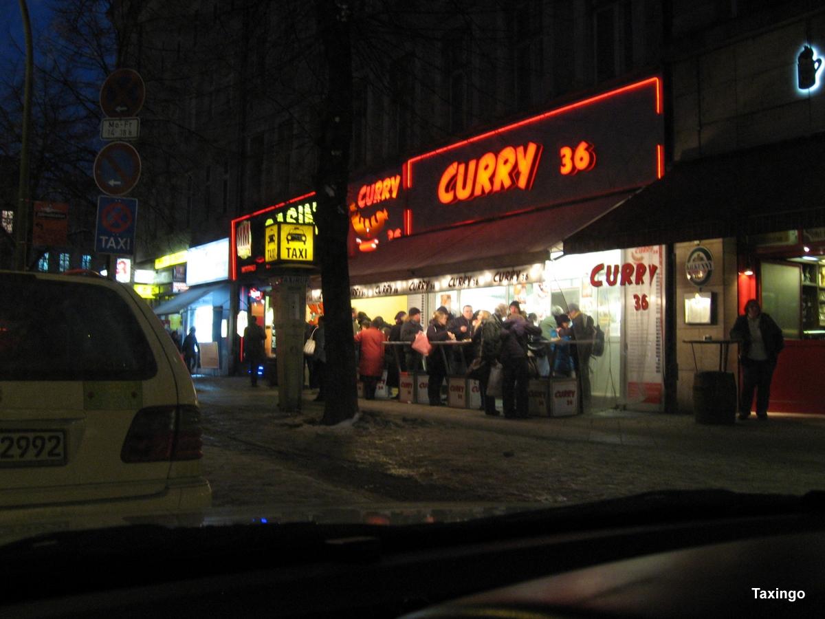 York Mehring - Curry 36 -Taxihalte mit Verpflegung- früher Dachluke