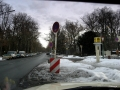 Hagenplatz im Winter