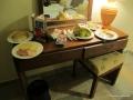 Kleine Snacks zu unser späten Ankunft