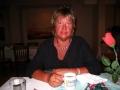 Babsy beim Abendessen