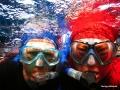 Babsy und Taxingo im Wasser