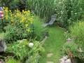 Gartenansicht Sommer 2011