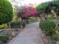 Gartenanlage im Hotel