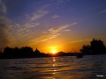 Sonnenuntergang am Utopia