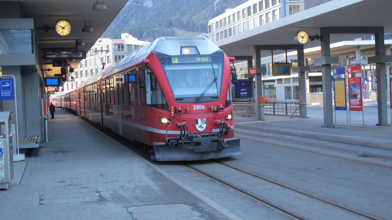 Rhätische Bahn von Chur nach Arosa