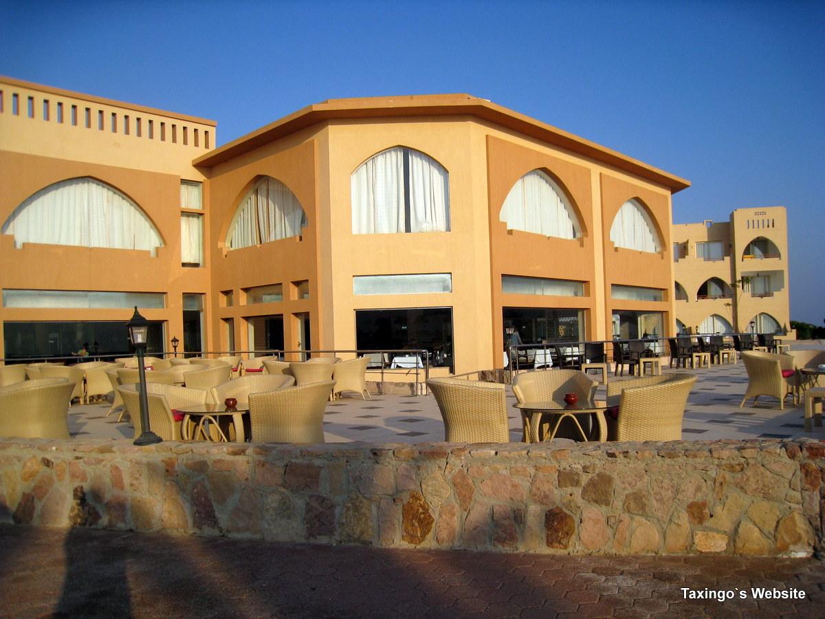 Equinox - Restaurant und Terrasse