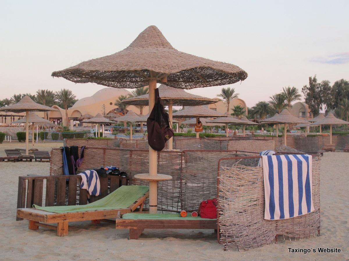 Unser Stranddomizil am Shams