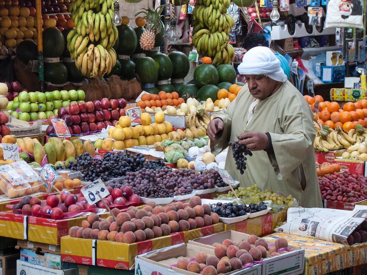 Obstverkauf in Cairo