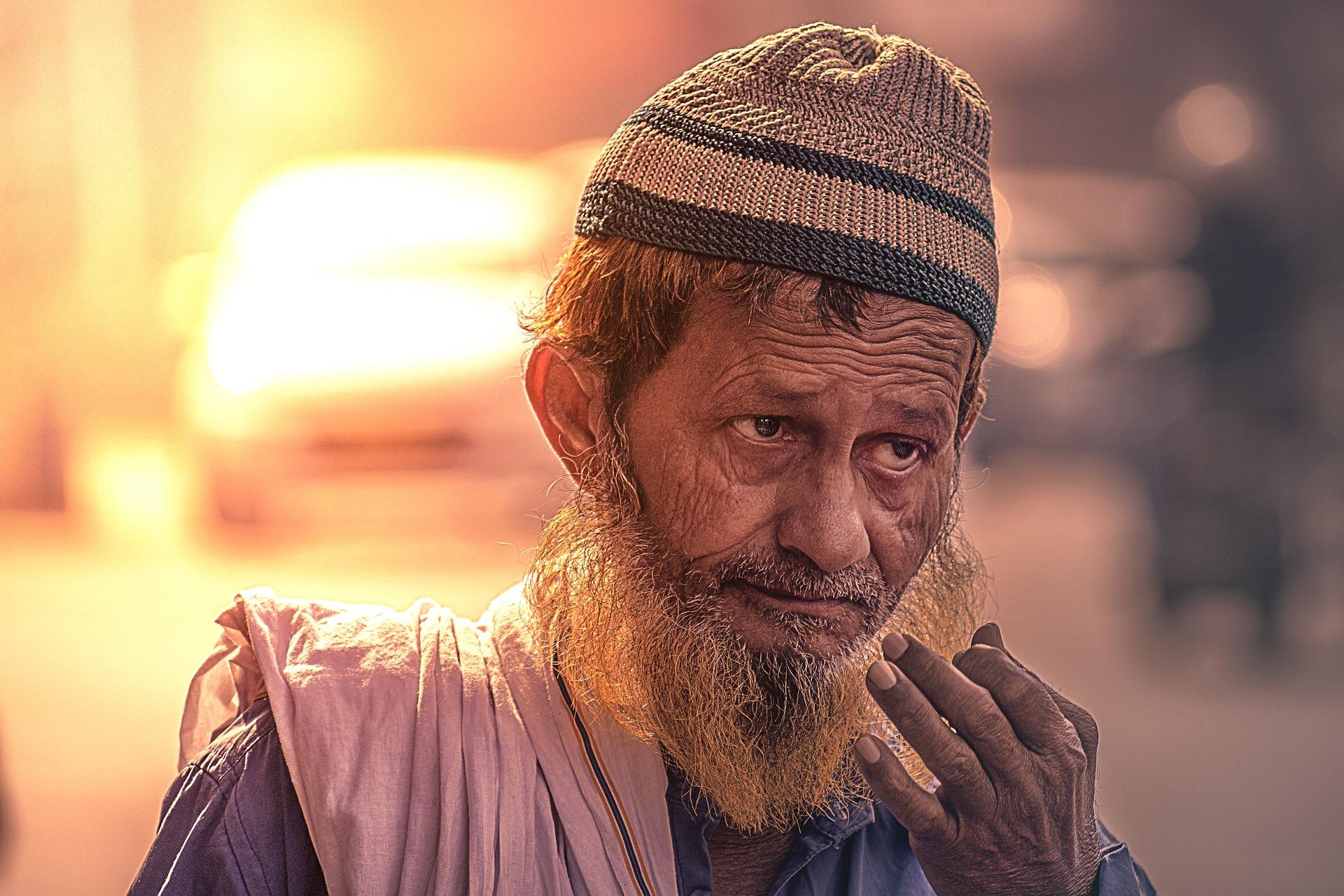 Arabischer alter  Mann