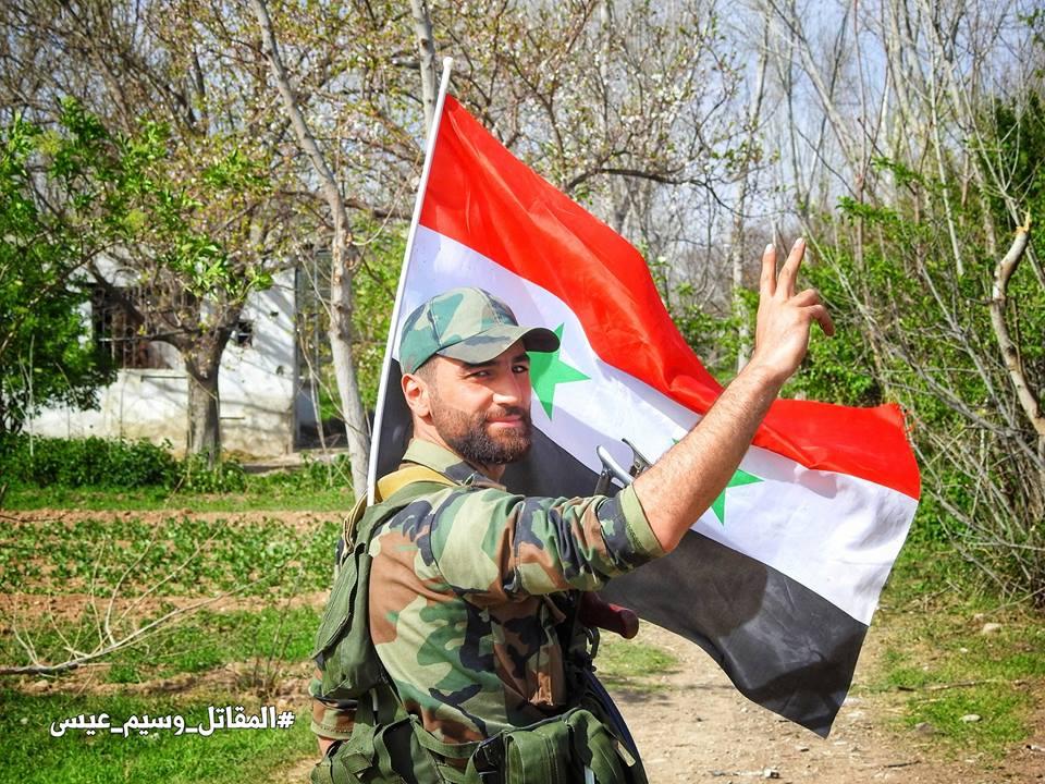 Die Syrisch Arabische Armee hat Damaskus von den NATO- Terroristen befreit!