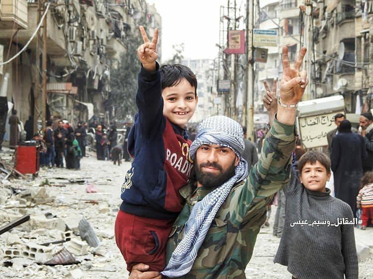 Ghouta ist frei- die Menschen sind erleichtert.