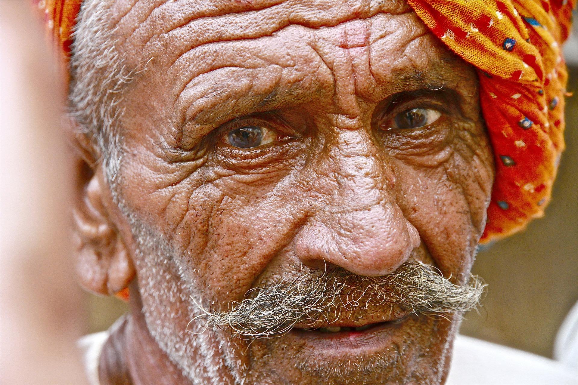Damaskus - Alter Mann