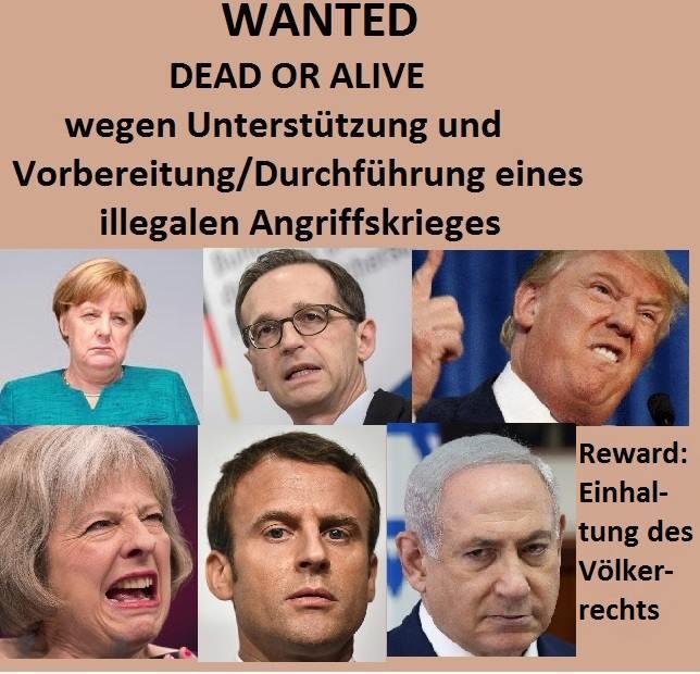 Nato Schurken in den Knast