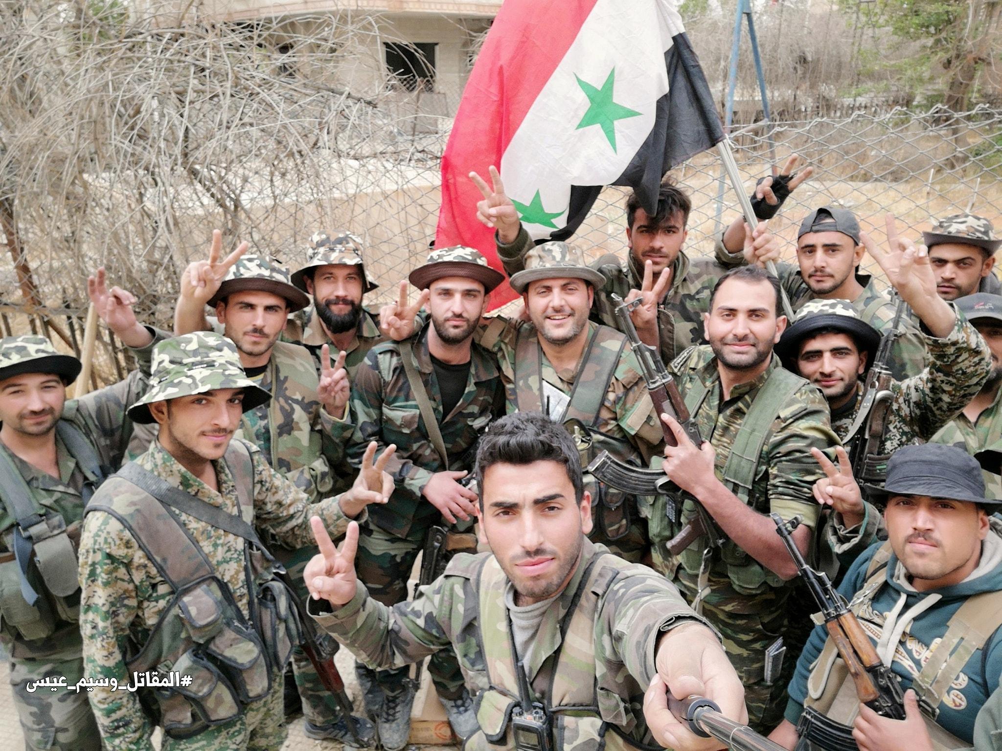 Die SAA weiter auf dem Vormarsch - Yarmouk Camp
