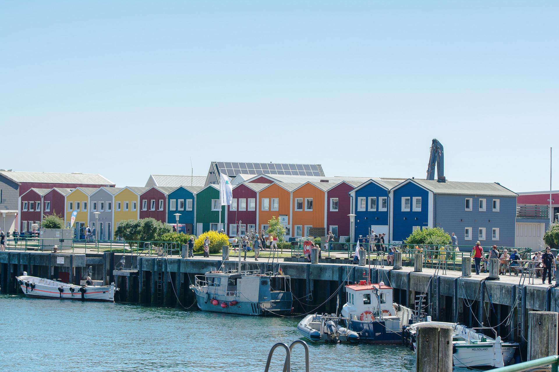 Hummerbuden am Hafen - Helgoland