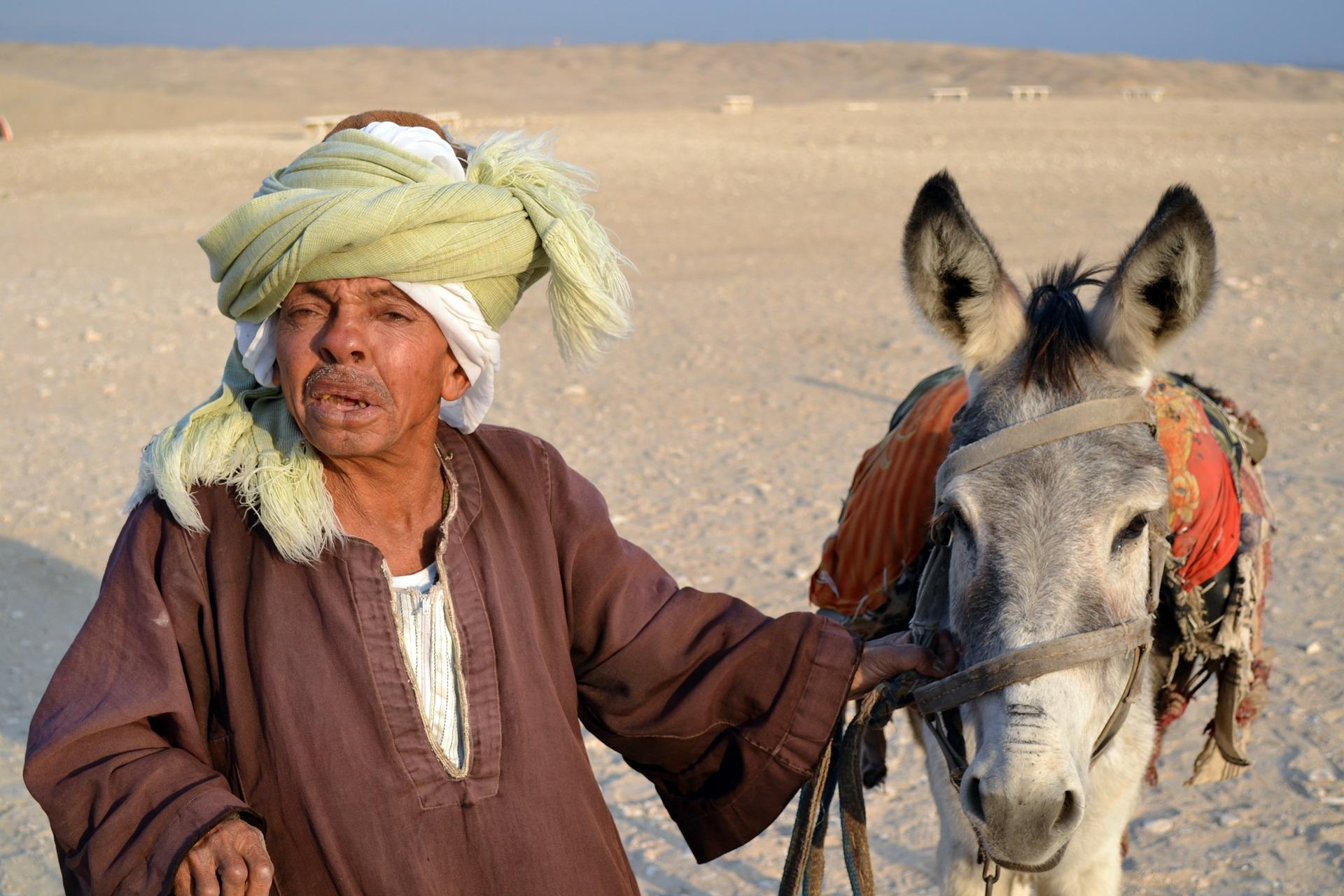 Menschen in Ägypten