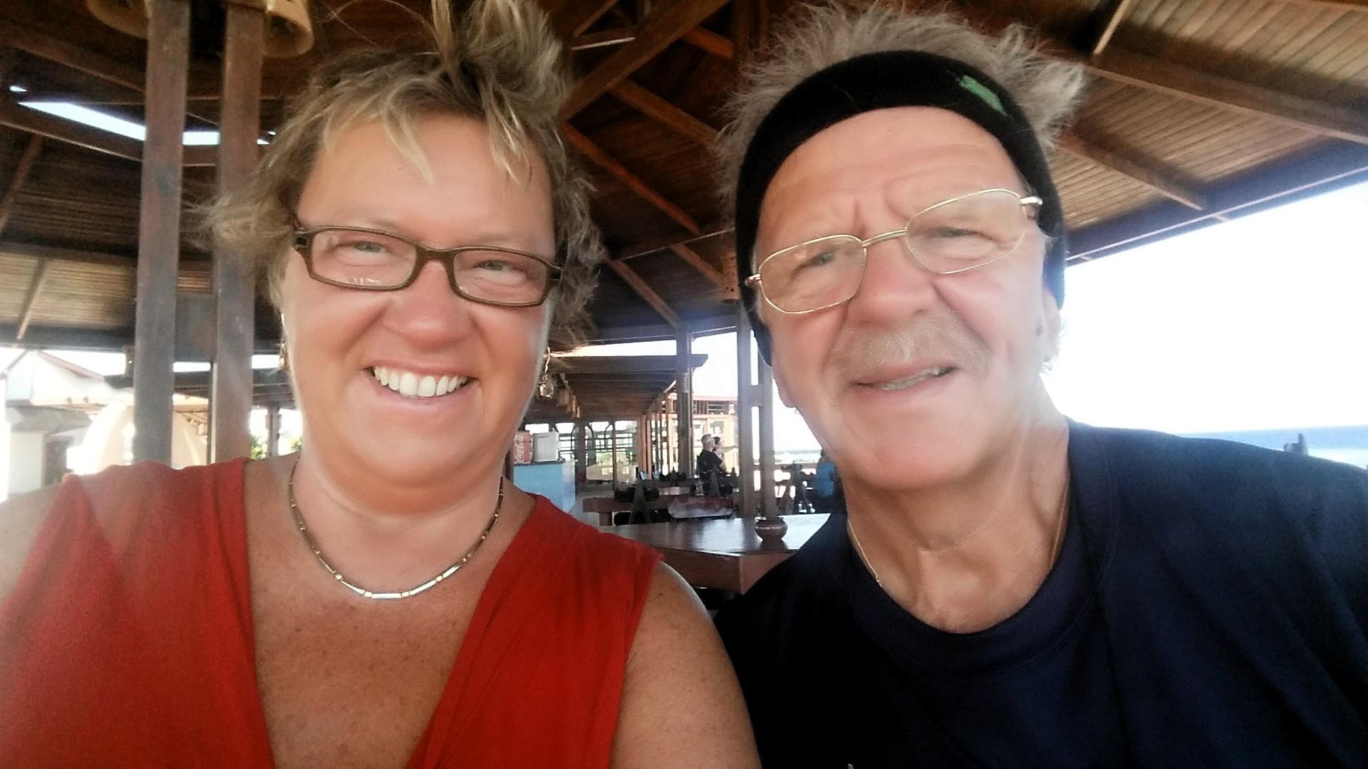 Babsy und Ingo - Rentner in Eypt