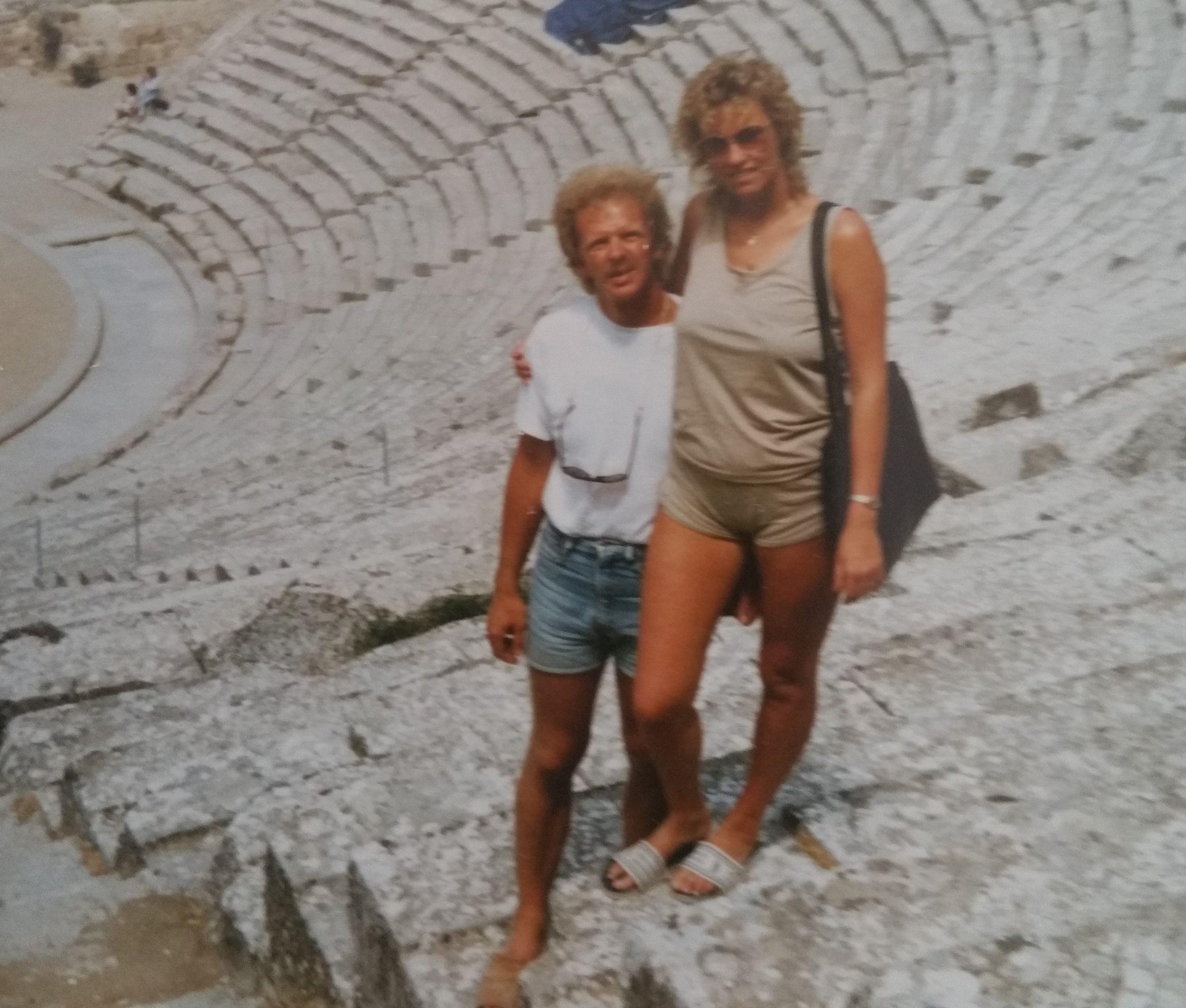 Babsy und Ingo 30 Jahre früher