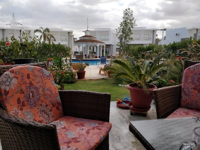 Villa 31- Blickvon der Terrasse