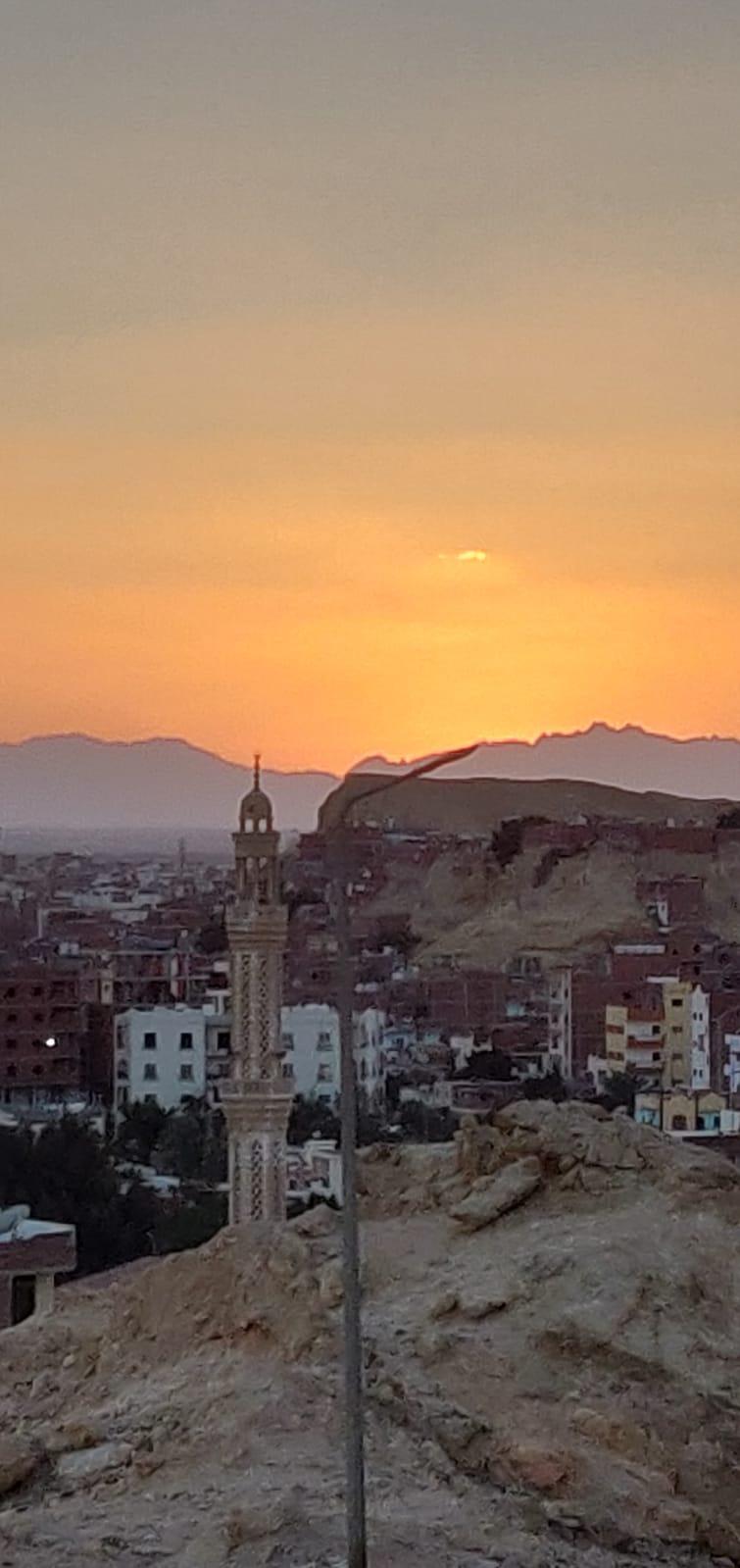 Sunset vom Frauenberg (Hurghada)